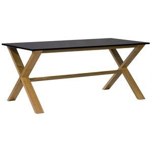 NordiForm Artic matbord 180 ek / svart