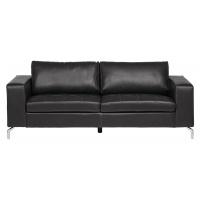 Roma 3-sits soffa - Svart Pellissima l�der