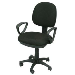 Assistent kontorsstol - Svart / plast