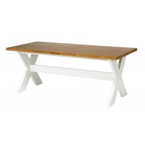 Kavari matbord vit/ek