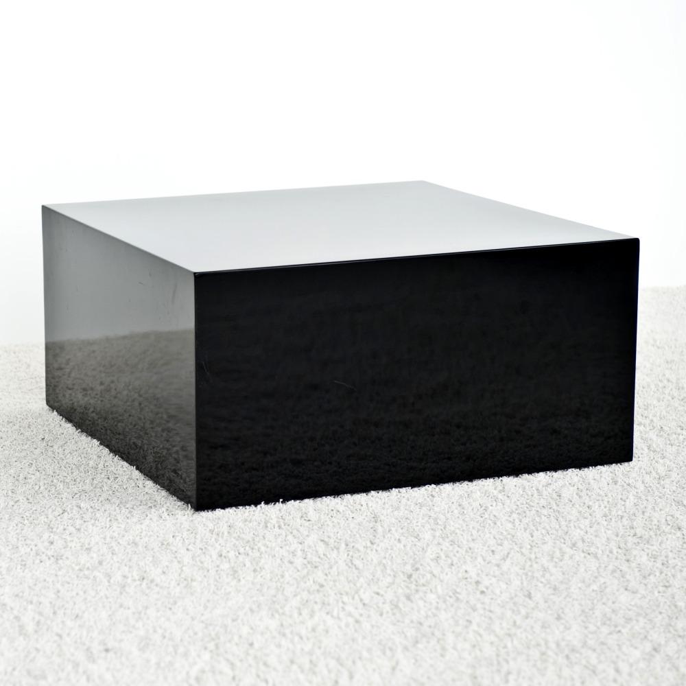 Q-Table Lampbord Svart
