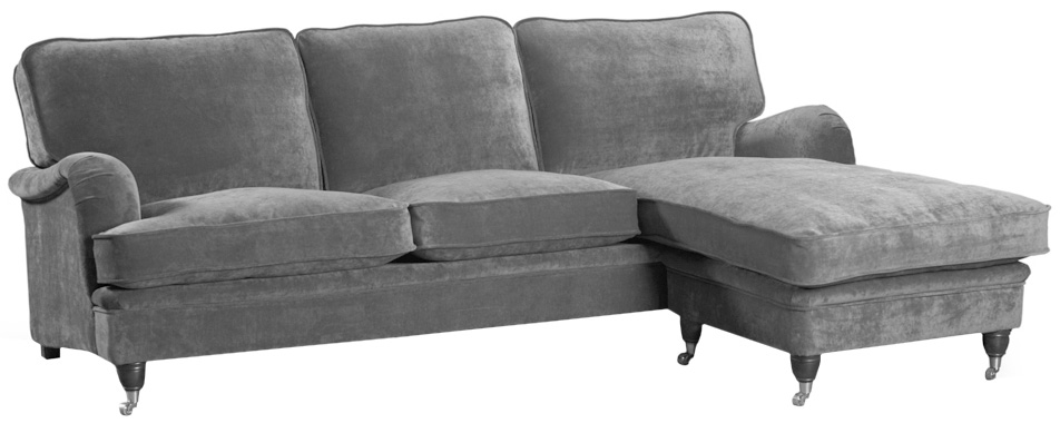 Howard Luxor 4-sits divansoffa - Valfri färg!