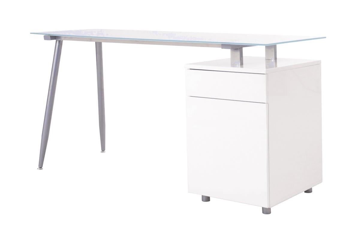 Spic skrivbord - vit