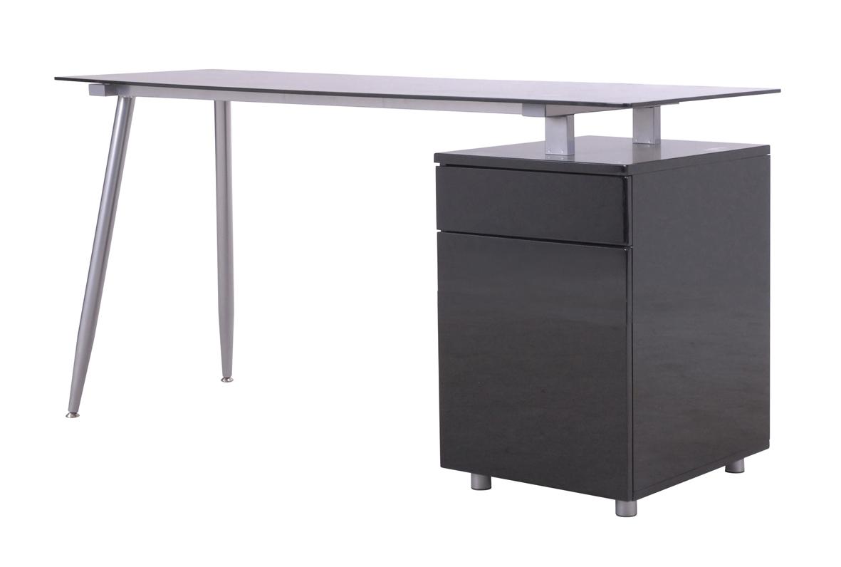 Spic skrivbord - svart