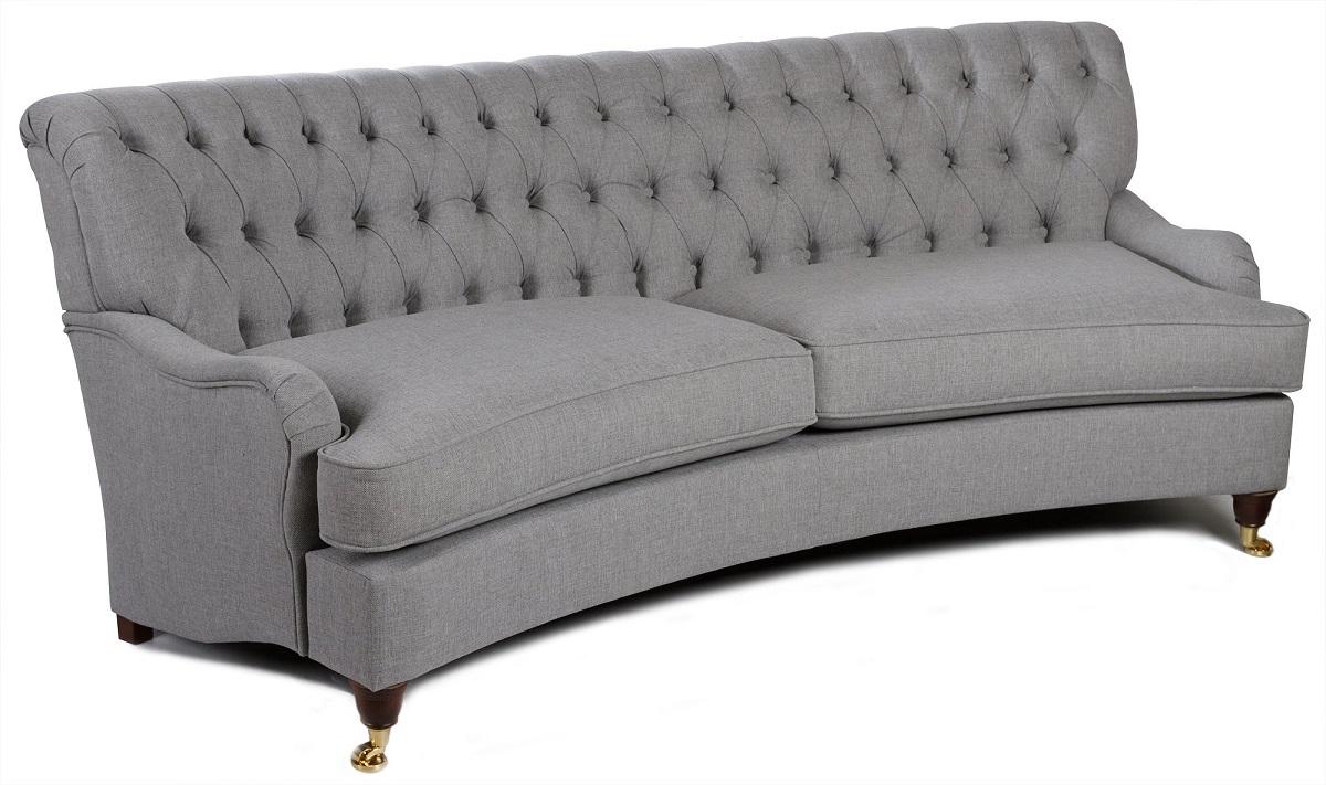 Howard Hamilton 4-sits svängd soffa - Valfri Färg!