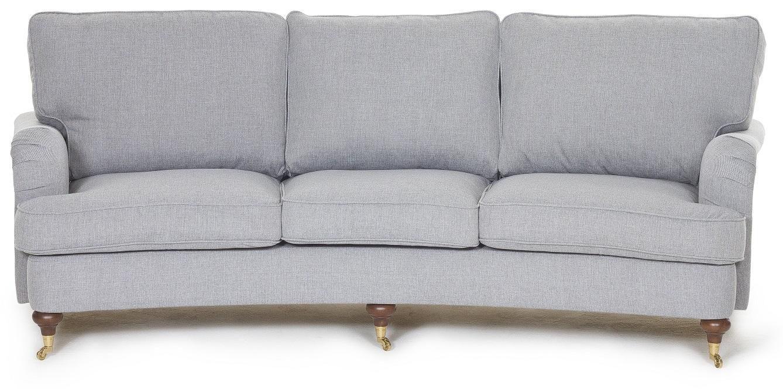 Howard Watford 4-sits svängd soffa - Grå