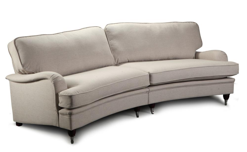 Howard Southampton 5-sits svängd soffa 275 cm - Ljus beige