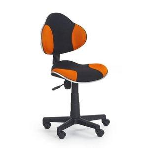 Sara skrivbordsstol - svart/orange