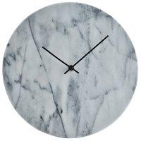 Väggklocka Timeless - Vit/Svart