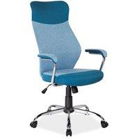 Macey skrivbordsstol - Blå