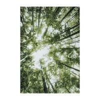 Maskinvävd matta Gavin - Grön