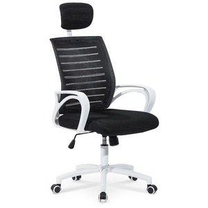 Betiel skrivbordsstol - Vit/svart