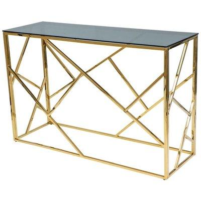 Leavitt konsolbord - Guld/svart