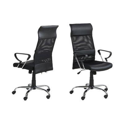 Colchester skrivbordsstol - Svart