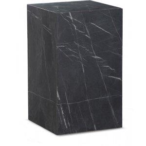 Sikfors sidobord - Svart marmorimitation