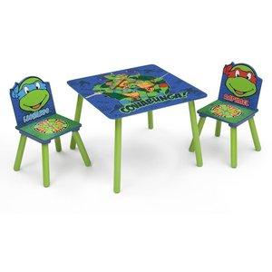 Turtles bord och stol