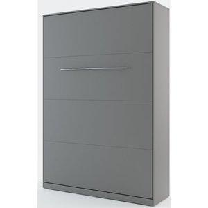 Sängskåp compact living Vertikalt (140x200 cm fällbar säng) - Grå