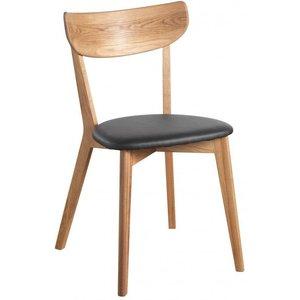 Amint stol - Ek/svart konstläder