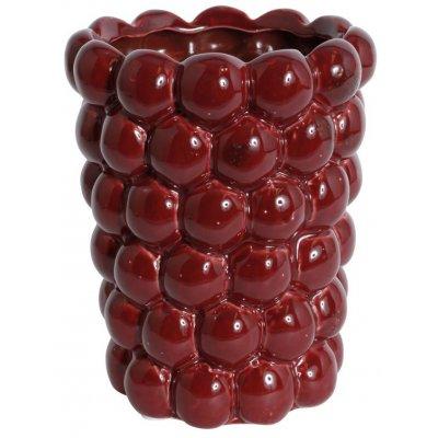 Vas Big Bouble H20 cm - Röd
