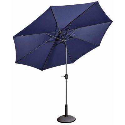 Parasoll Cali D300 cm i aluminium - Blå