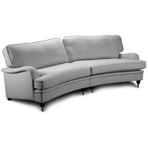 Howard Oxford XL Svängd soffmodell 275 cm - Ljusgrå