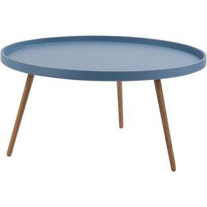 Pixie soffbord - Blå/ek