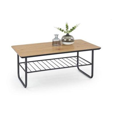 Giselle soffbord - Ek/svart