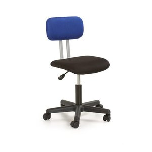 Anton skrivbordsstol - svart/blå