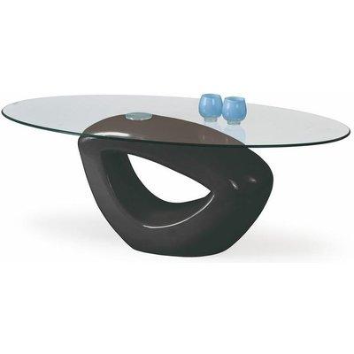 Sienna soffbord - Svart högglans