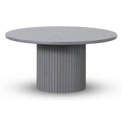 Circle runt soffbord Ø80 - Grå
