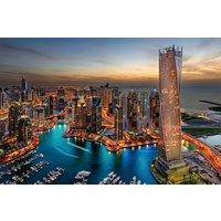 Glastavla Dubai - 120x80 cm