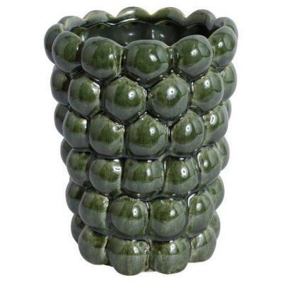 Vas Big Bouble H20 cm - Grön