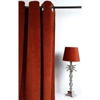 Velvet Gardinpar 240x140 cm - Rost