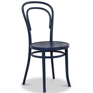 Böjträ Stol No14 Klassiker - Mörkblå