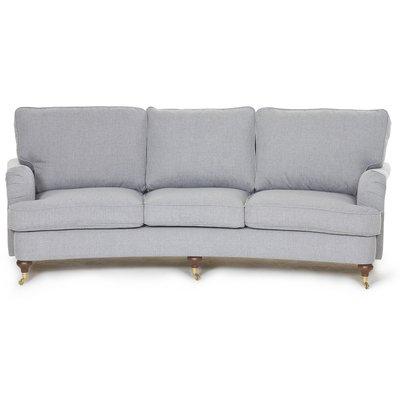 Howard Watford Deluxe 4-sits svängd soffa - Grå