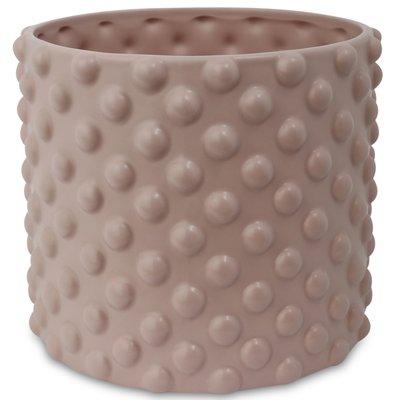 Kruka Bubbel H16 cm - Rosa
