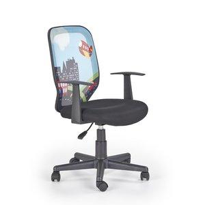 Tea City kontorsstol för barn - Blå/svart