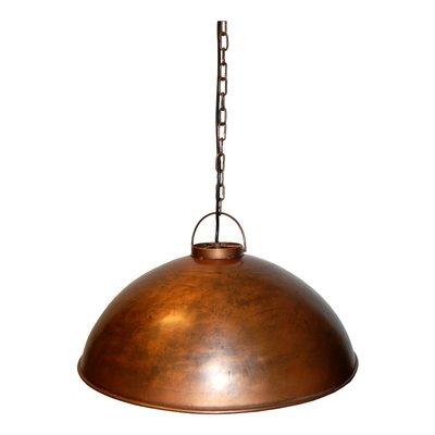 Ålborg taklampa - Vintage kopparfärgad