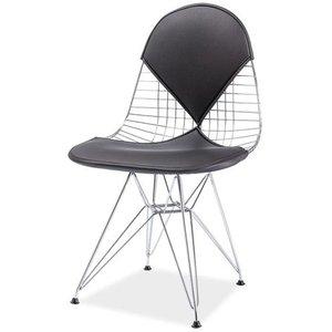 Trysil stol - Svart/krom