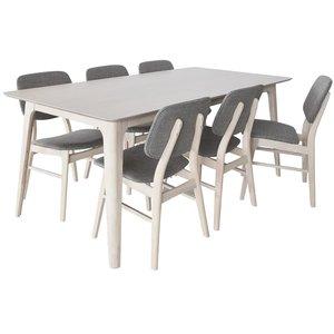 Malte matgrupp - bord med 6 st stolar