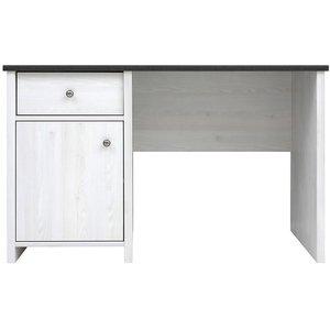 Salvador skrivbord - Vit/svart