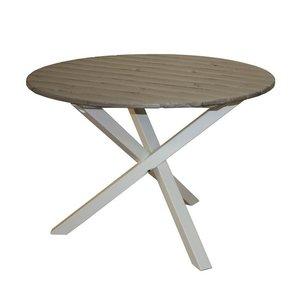 Matbord Scottsdale 105 cm - Vit/grå