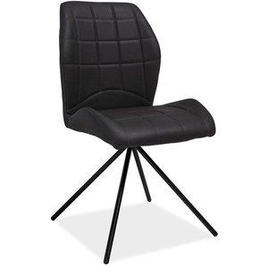 Catalina stol - Grå/mattsvart
