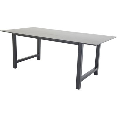 Matbord Gällivare 220 cm - Svart