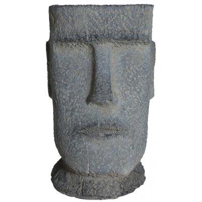 Ansikte kruka H50 cm - utomhus kruka