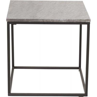 Kvarnbacken sidobord - Svart/grå