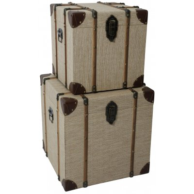 Louis koffert soffbord set - Vintage koffert