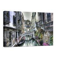 Canvastavla Venedig