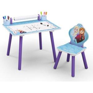 Frost Ritbord med stol - Lila/blå