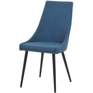 Bergstena stol - Blå/svart